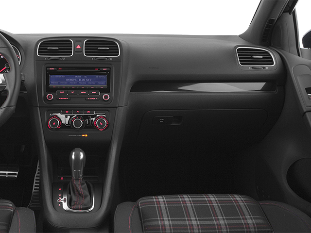 2014 Volkswagen GTI Prices and Values Hatchback 4D 2.0T I4 Turbo passenger's dashboard