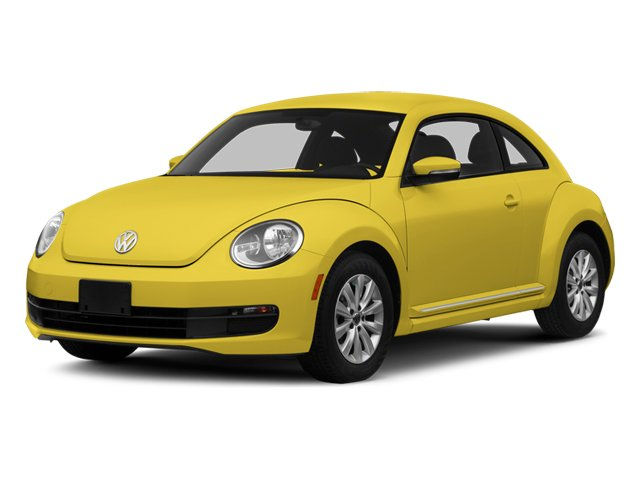 2014 Volkswagen Beetle Coupe Prices and Values Coupe 2D TDI I4 side front view
