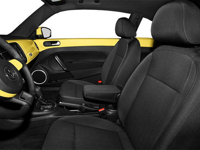 2014 Volkswagen Beetle Coupe Prices and Values Coupe 2D TDI I4 front seat interior