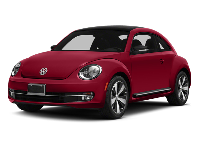 2014 Volkswagen Beetle Coupe Prices and Values Coupe 2D R-Line I4 Turbo side front view
