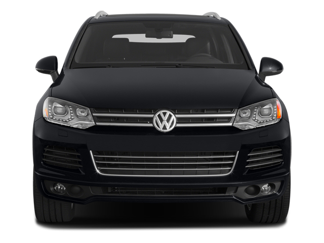 2014 Volkswagen Touareg Prices and Values Utility 4D R-Line AWD V6 front view