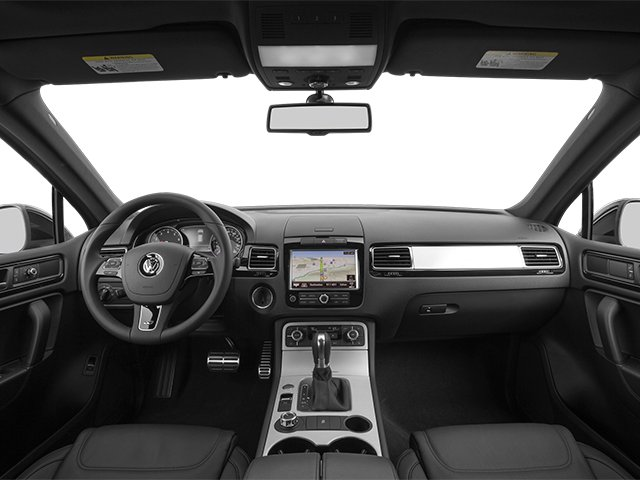 2014 Volkswagen Touareg Prices and Values Utility 4D R-Line AWD V6 full dashboard