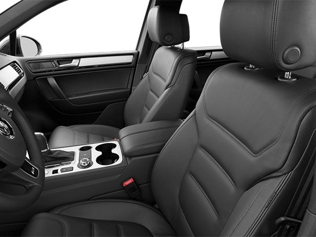 2014 Volkswagen Touareg Prices and Values Utility 4D R-Line AWD V6 front seat interior