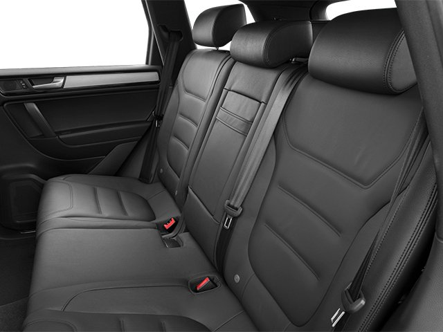 2014 Volkswagen Touareg Prices and Values Utility 4D R-Line AWD V6 backseat interior
