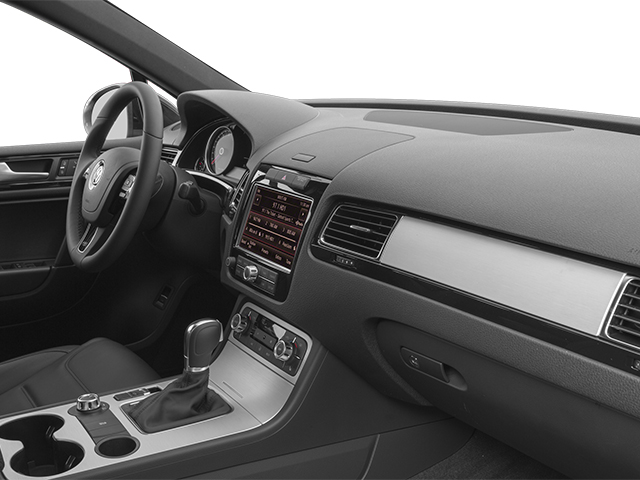2014 Volkswagen Touareg Prices and Values Utility 4D R-Line AWD V6 passenger's dashboard