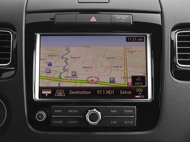 2014 Volkswagen Touareg Prices and Values Utility 4D R-Line AWD V6 navigation system