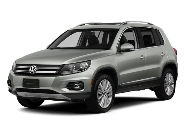 2014 Volkswagen Tiguan Pictures Tiguan Utility 4D SEL AWD I4 Turbo photos side front view