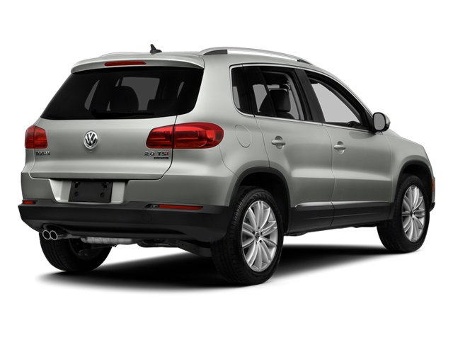 2014 Volkswagen Tiguan Pictures Tiguan Utility 4D SEL 2WD I4 Turbo photos side rear view