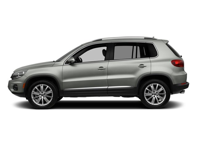 2014 Volkswagen Tiguan Pictures Tiguan Utility 4D SEL 2WD I4 Turbo photos side view