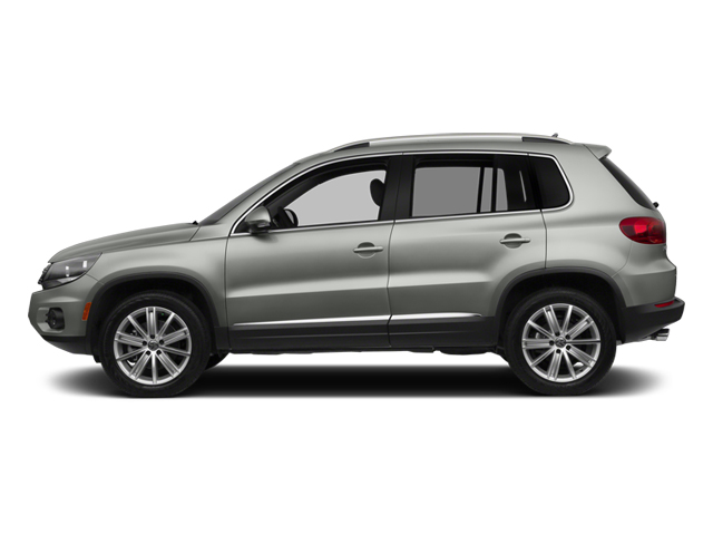 2014 Volkswagen Tiguan Prices and Values Utility 4D SE 2WD I4 Turbo side view