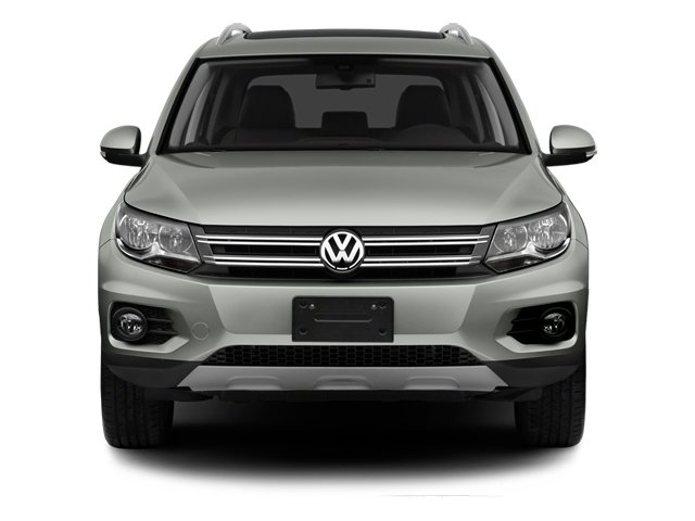 2014 Volkswagen Tiguan Pictures Tiguan Utility 4D SEL AWD I4 Turbo photos front view