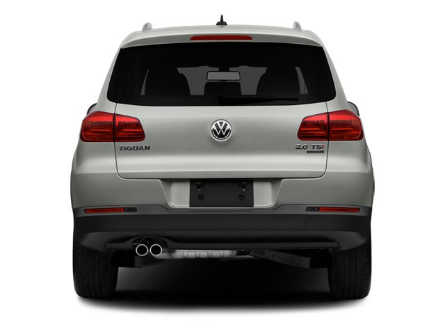 2014 Volkswagen Tiguan Pictures Tiguan Utility 4D SEL 2WD I4 Turbo photos rear view