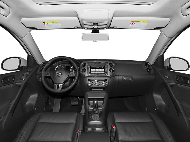 2014 Volkswagen Tiguan Pictures Tiguan Utility 4D SEL 2WD I4 Turbo photos full dashboard
