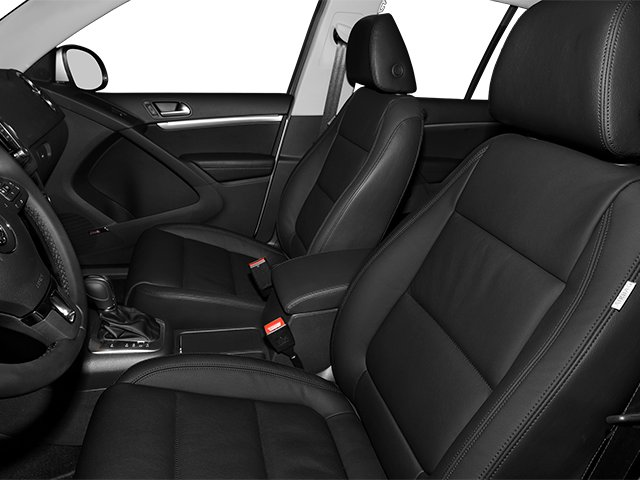 2014 Volkswagen Tiguan Pictures Tiguan Utility 4D SEL 2WD I4 Turbo photos front seat interior