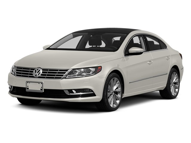 2014 Volkswagen CC Prices and Values Sedan 4D Sport I4 Turbo side front view
