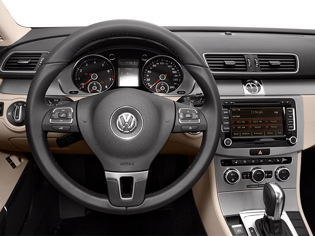 2014 Volkswagen CC Prices and Values Sedan 4D Sport I4 Turbo driver's dashboard