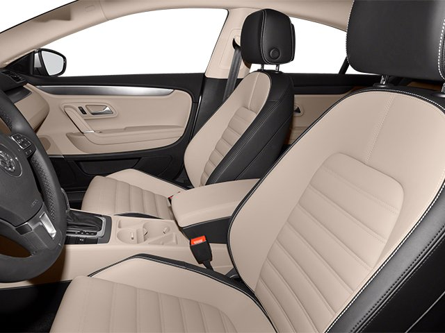 2014 Volkswagen CC Prices and Values Sedan 4D Sport I4 Turbo front seat interior