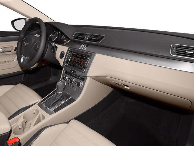 2014 Volkswagen CC Prices and Values Sedan 4D Sport I4 Turbo passenger's dashboard