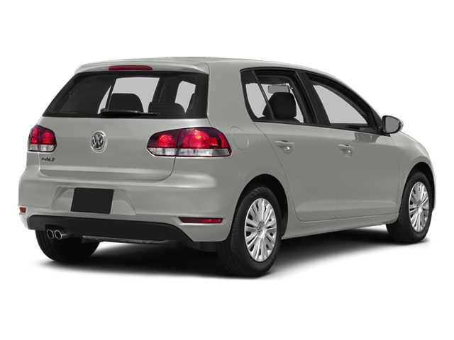 2014 Volkswagen Golf Prices and Values Hatchback 4D I5 side rear view