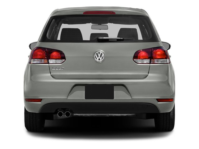 2014 Volkswagen Golf Prices and Values Hatchback 4D I5 rear view