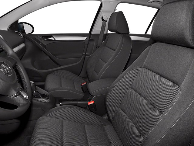 2014 Volkswagen Golf Prices and Values Hatchback 4D I5 front seat interior