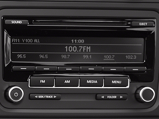 2014 Volkswagen Golf Prices and Values Hatchback 4D I5 stereo system