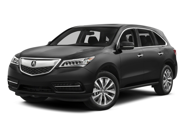 2015 Acura MDX Prices and Values Utility 4D Technology AWD V6 side front view