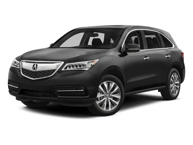 2015 Acura MDX Pictures MDX Utility 4D Technology DVD AWD V6 photos side front view
