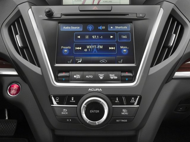 2015 Acura MDX Pictures MDX Utility 4D Technology DVD AWD V6 photos stereo system