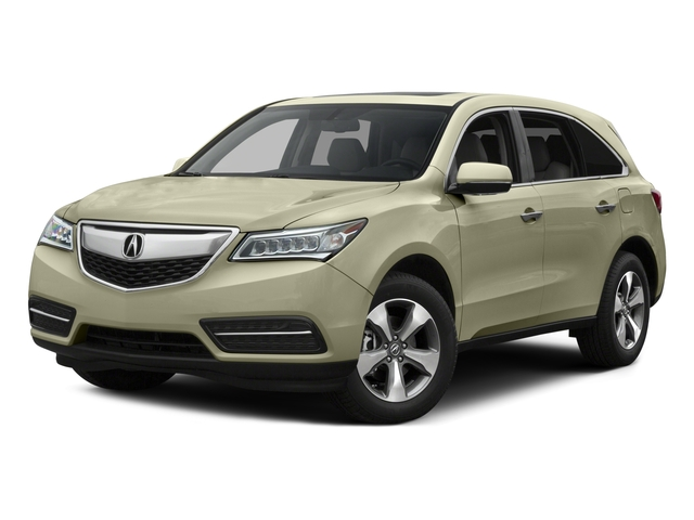 2015 Acura MDX Prices and Values Utility 4D AWD V6 side front view