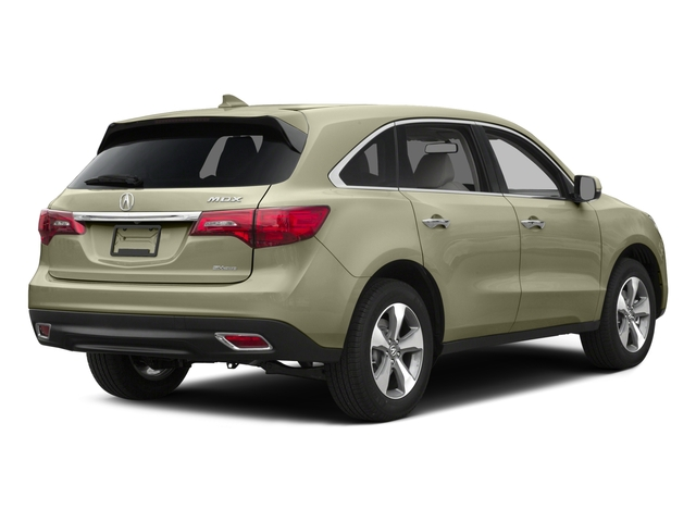 2015 Acura MDX Prices and Values Utility 4D AWD V6 side rear view