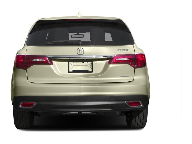 2015 Acura MDX Prices and Values Utility 4D AWD V6 rear view