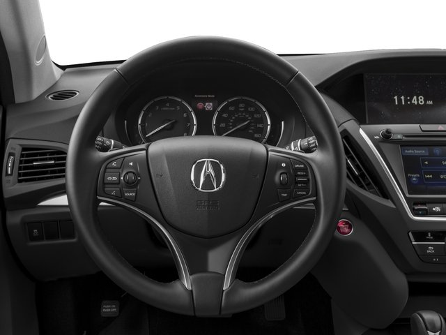 2015 Acura MDX Prices and Values Utility 4D AWD V6 driver's dashboard