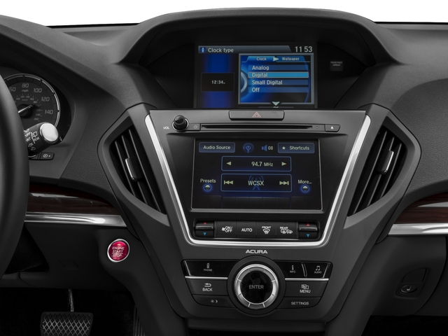2015 Acura MDX Prices and Values Utility 4D AWD V6 stereo system