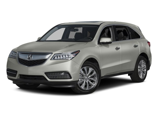 2015 Acura MDX Prices and Values Utility 4D Technology DVD 2WD V6 side front view