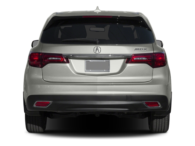 2015 Acura MDX Prices and Values Utility 4D Technology DVD 2WD V6 rear view