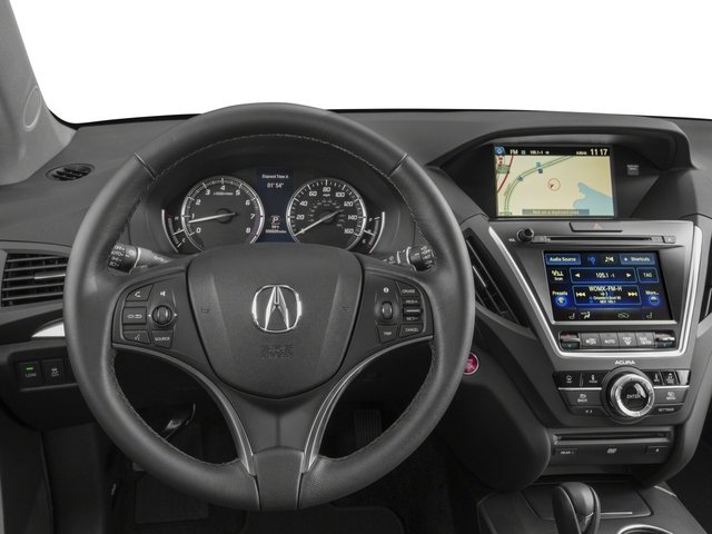 2015 Acura MDX Prices and Values Utility 4D Technology DVD 2WD V6 driver's dashboard