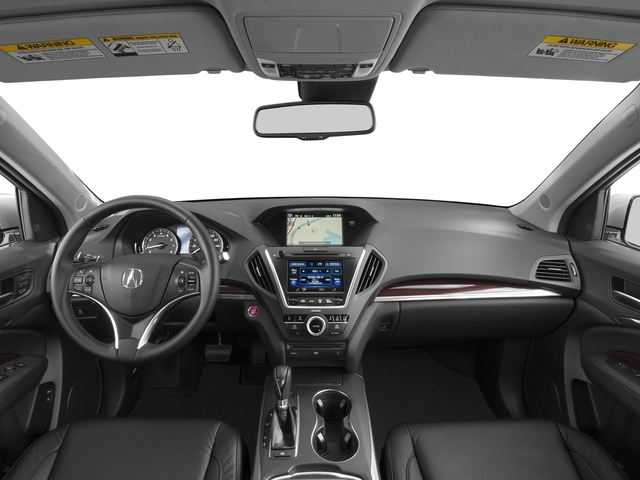 2015 Acura MDX Prices and Values Utility 4D Technology DVD 2WD V6 full dashboard