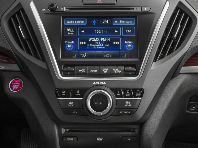 2015 Acura MDX Prices and Values Utility 4D Technology DVD 2WD V6 stereo system