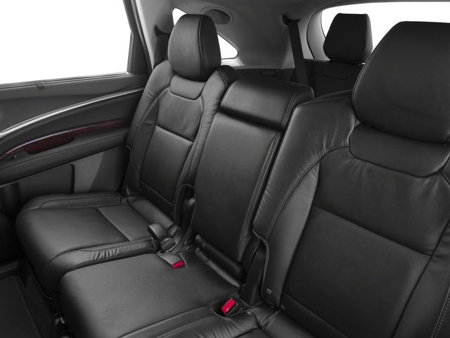 2015 Acura MDX Prices and Values Utility 4D Technology DVD 2WD V6 backseat interior