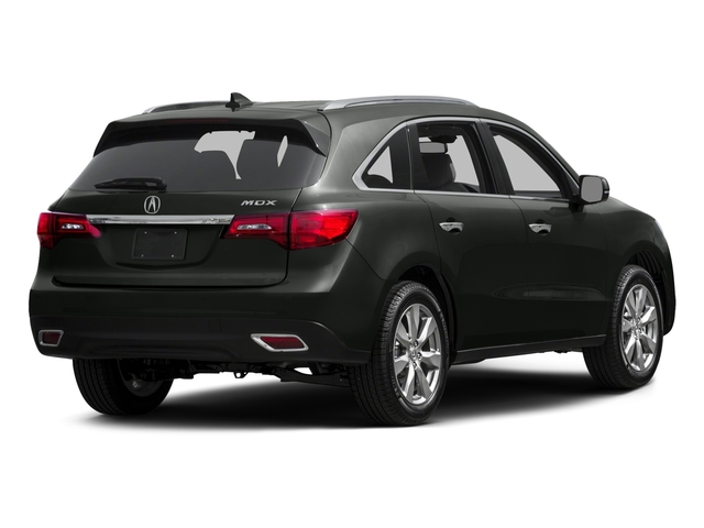 2015 Acura MDX Pictures MDX Utility 4D Advance DVD 2WD V6 photos side rear view