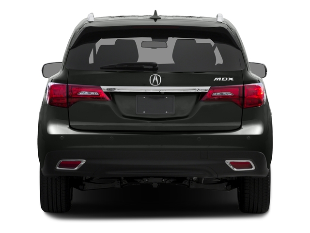 2015 Acura MDX Prices and Values Utility 4D Advance DVD 2WD V6 rear view