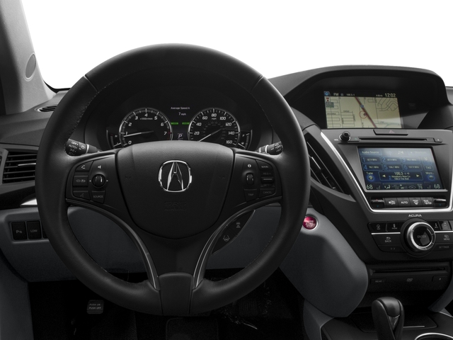 2015 Acura MDX Prices and Values Utility 4D Advance DVD 2WD V6 driver's dashboard