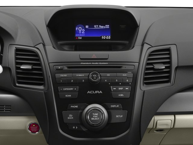 2015 Acura RDX Prices and Values Utility 4D AWD V6 stereo system