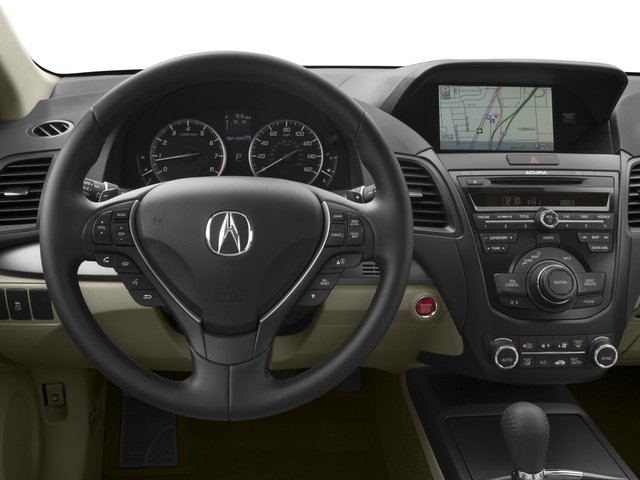 2015 Acura RDX Prices and Values Utility 4D Technology AWD V6 driver's dashboard