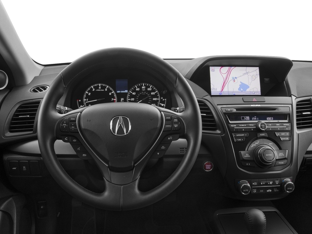 2015 Acura RDX Prices and Values Utility 4D Technology 2WD V6 driver's dashboard