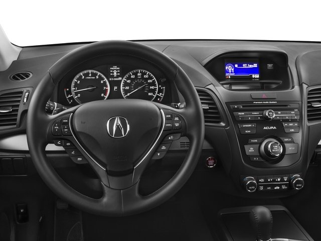 2015 Acura RDX Prices and Values Utility 4D 2WD V6 driver's dashboard