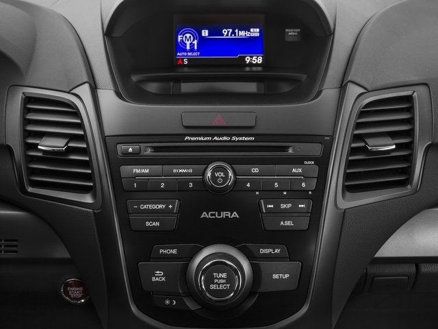 2015 Acura RDX Prices and Values Utility 4D 2WD V6 stereo system
