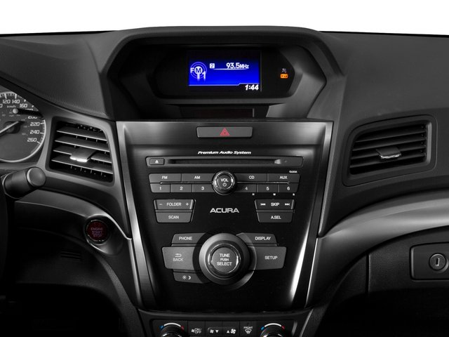 2015 Acura ILX Prices and Values Sedan 4D I4 stereo system