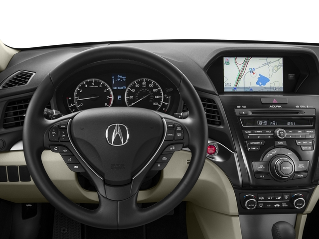 2015 Acura ILX Prices and Values Sedan 4D Technology I4 driver's dashboard